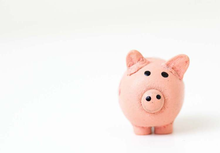 Pink piggy bank - investing as part of your future.